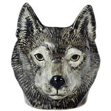 quail ceramics face egg cup 'wolf' - the-tangerine-fox