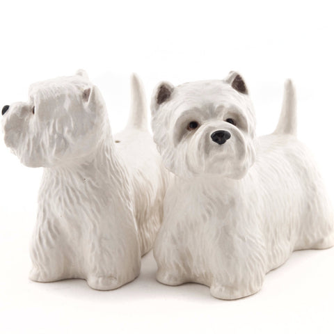 quail ceramics salt & pepper 'westie' - the-tangerine-fox
