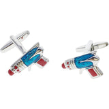 cufflinks 'ray gun' - the-tangerine-fox