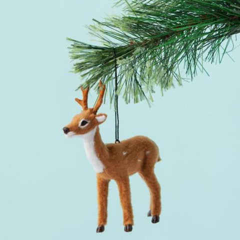 christmas ornament 'reindeer' natural