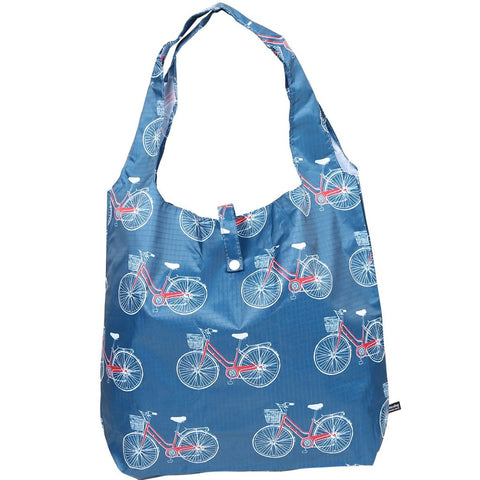 gifted hands shopping bag 'ride' blue