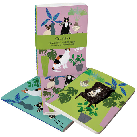 roger la borde notebook set 'cat palais'