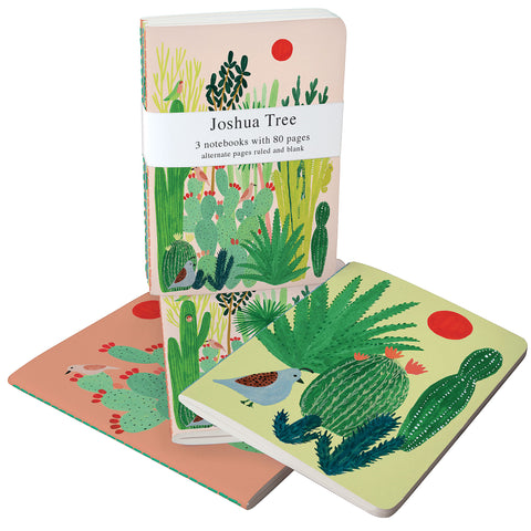 roger la borde notebook set 'joshua tree'