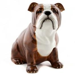 quail ceramics money box 'english bulldog'