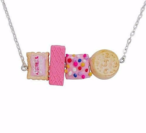 SATURDAY LOLLIPOP 'BISCUIT' NECKLACE