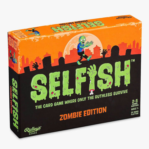ridley's games 'selfish: zombie edition'