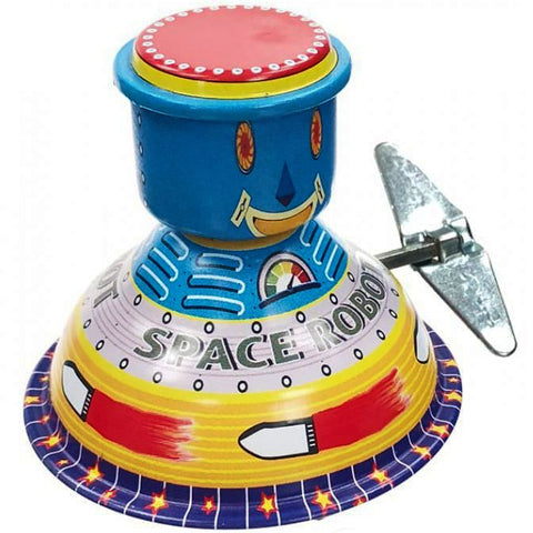 retro tin toy 'space robot'