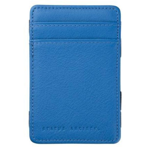 status anxiety wallet 'men's flip' surf blue