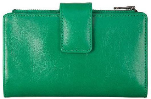 status anxiety wallet 'outsider' emerald