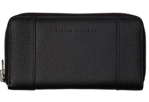 status anxiety wallet 'state of flux' black