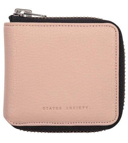 status anxiety wallet 'the cure ' dusty pink
