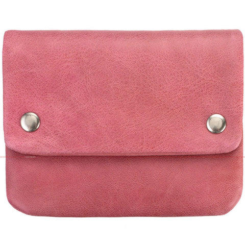 status anxiety wallet 'norma' pink
