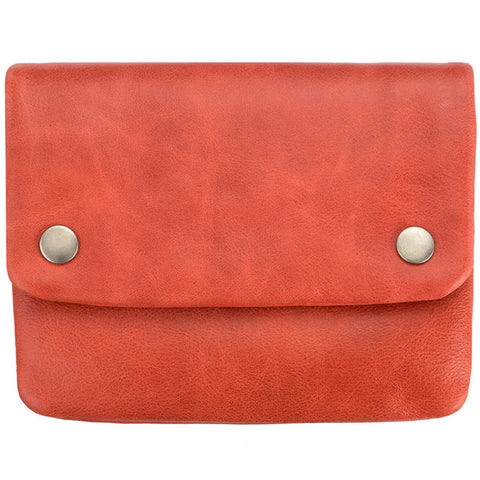 STATUS ANXIETY 'NORMA' WALLET RED