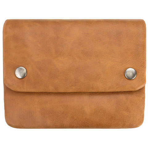status anxiety wallet 'norma' tan