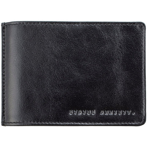 status anxiety wallet 'men's perez money clip' black