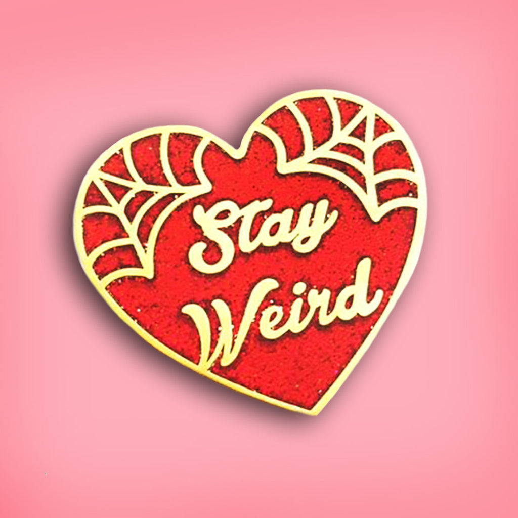 'stay weird' red