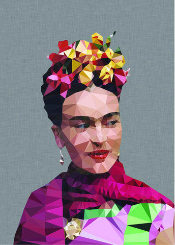 studio cockatoo art print 'frida 4' A3