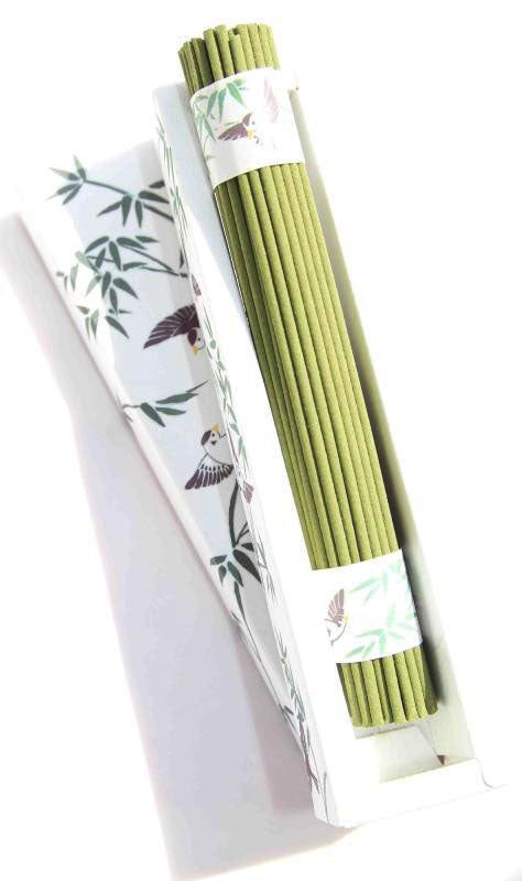 concept japan incense 'engimono' bamboo forest