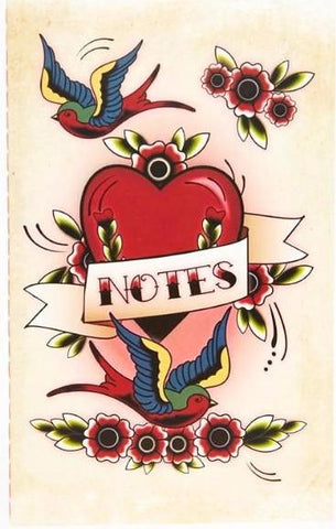 TEMERITY JONES 'TATTOO PRINT' NOTEBOOK