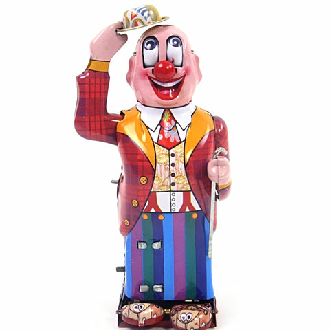 retro tin toy 'dandy clown'