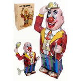 retro tin toy 'dandy clown' - the-tangerine-fox