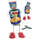 retro tin toy 'robot drummer'
