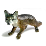 fox miniature ceramic