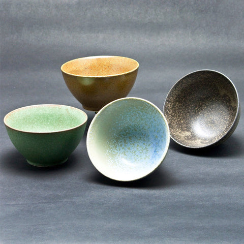 concept japan 4 bowl set 'wabisabi donburi'
