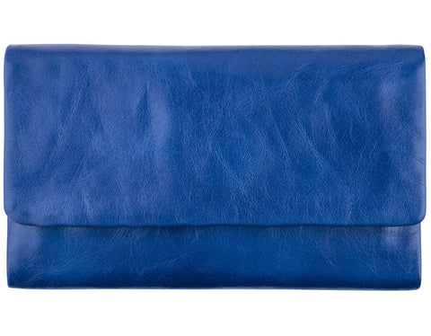 STATUS ANXIETY 'AUDREY' WALLET ROYAL BLUE