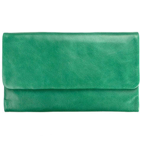 status anxiety wallet 'audrey' emerald