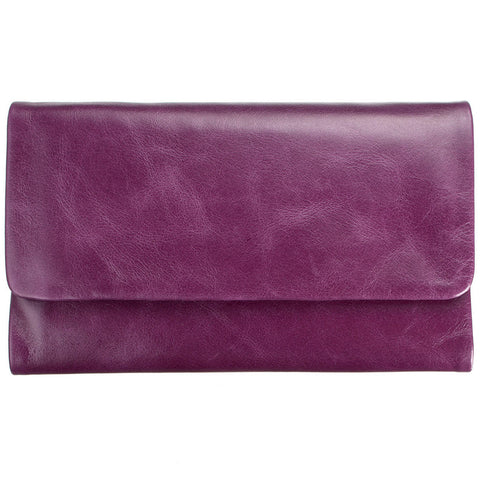 STATUS ANXIETY 'AUDREY' WALLET PURPLE