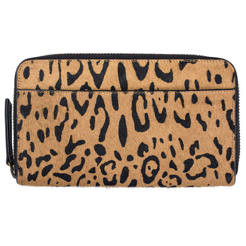 STATUS ANXIETY 'DELILAH' WALLET LEOPARD