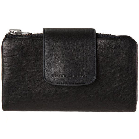 STATUS ANXIETY 'THE FALLEN' WALLET BLACK
