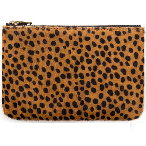 STATUS ANXIETY 'MAUD' WALLET CHEETAH