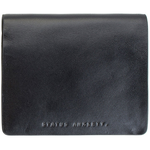 STATUS ANXIETY 'MEN'S NATHANIEL' WALLET BLACK