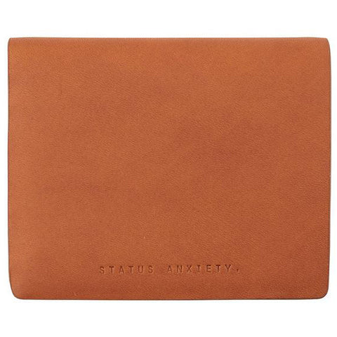 STATUS ANXIETY 'MEN'S NATHANIEL' WALLET CAMEL