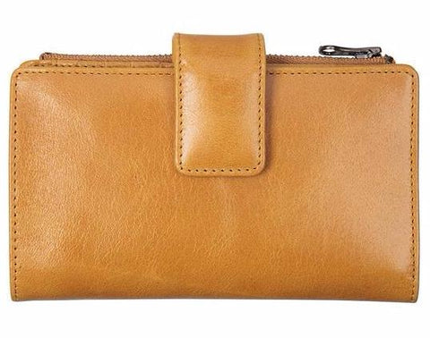 status anxiety wallet 'outsider' tan