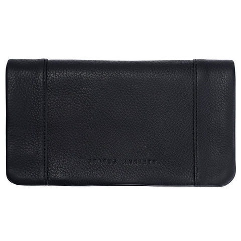STATUS ANXIETY 'SOME TYPE OF LOVE' WALLET BLACK - the-tangerine-fox