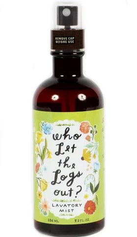 blue q lavatory mist 'who let the logs out' - the-tangerine-fox
