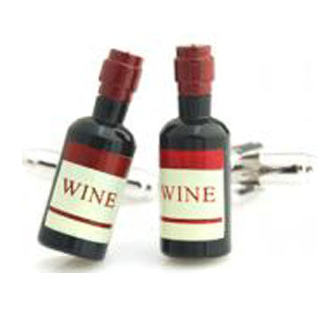 cufflinks 'wine bottles'
