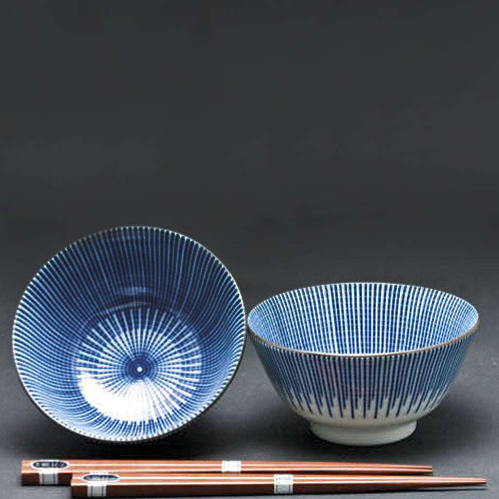 concept japan 2 bowl set 'yagurama togusa' - the-tangerine-fox