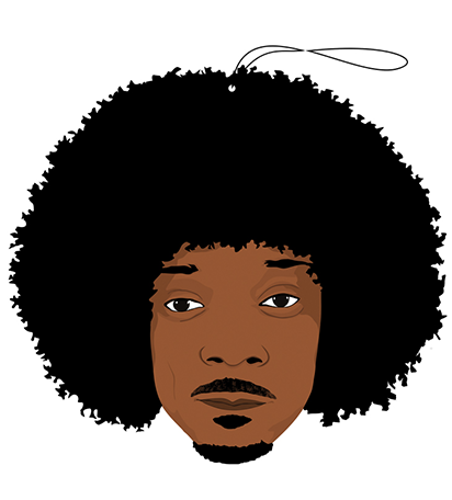 PRO AND HOP AIR FRESHENER 'THE FRO'