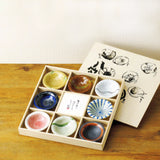 concept japan 8 bowl set 'yuraku'