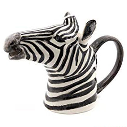 quail ceramics jug 'zebra' medium