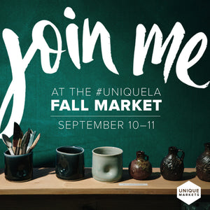 Join Banter & Bliss at UNIQUE LA Fall Market September 10-11