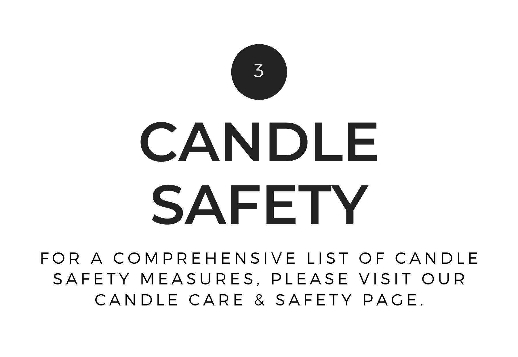 Banter & Bliss Candle Co. Candle Safety