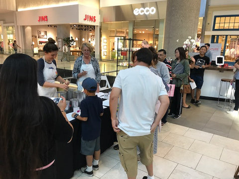 Banter & Bliss Candlemaking at Westfield Santa Anita Mall!