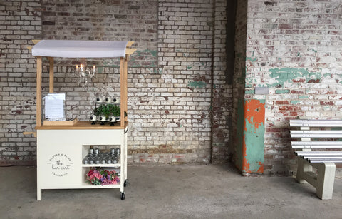 The Banter & Bliss Bar Cart On Location Olfactory Experience