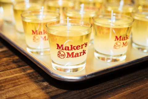 Maker's Mark Inspired Candles Poured at the Taste of Costa Mesa LA Times Event