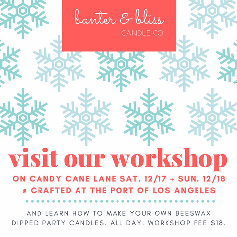Banter & Bliss Candlemaking Workshop